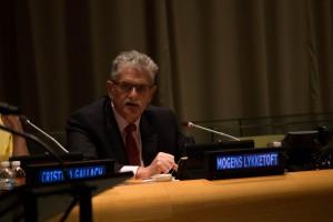 UN GA President Mogens Lykketoft at World Autism Awareness Day