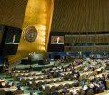 Salón de la Asamablea General. Foto ONU/Rick Bajornas