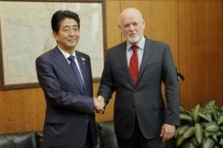 PGA BILATERAL with PM of Japan, H.E. Shinzo