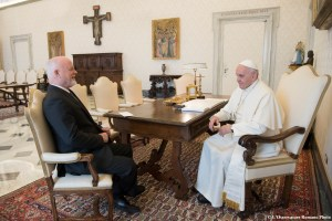 The President of the UNGA had an audience with His Holiness Pope Francis