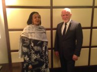 Meeting with H.E. DR. Amina C. Mohamed, Cabinet Secretary for Foreign Affairs of Kenya