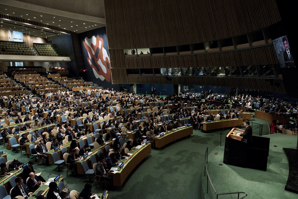 All Is Quiet On The United Nations Front, Until Now! 72nd General Assembly In NY—Guess What's On The Agenda… | Police State
