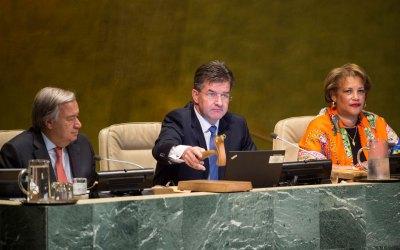 La Asamblea General de la ONU inaugura su 72º periodo de sesiones
