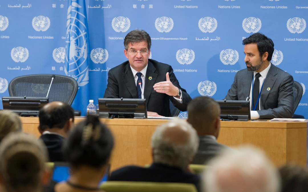 Transcript: First Press Conference by the President of the General Assembly