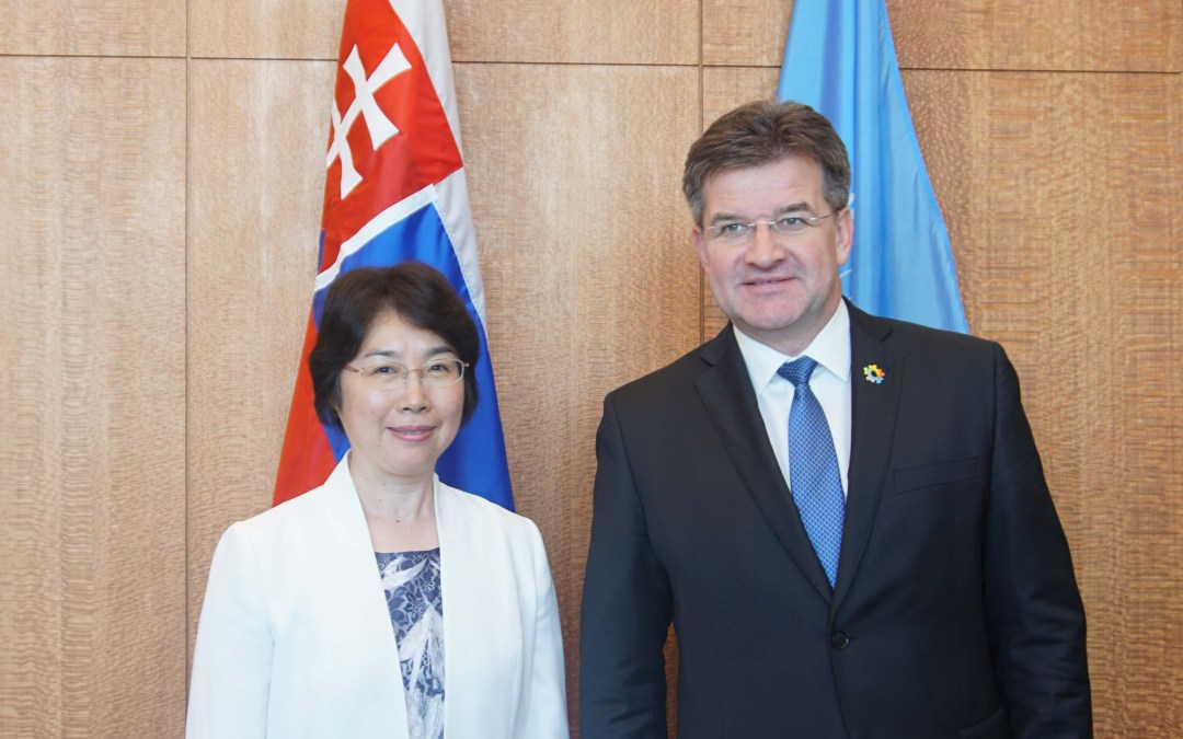 Meeting with Commissioner of the National Supervisory Commission of China