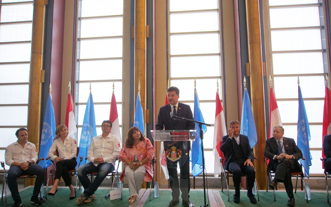 """Monaco Reception: """"Formula E, New Technologies for SDGs Transformation towards sustainable and resilient societies"""""""