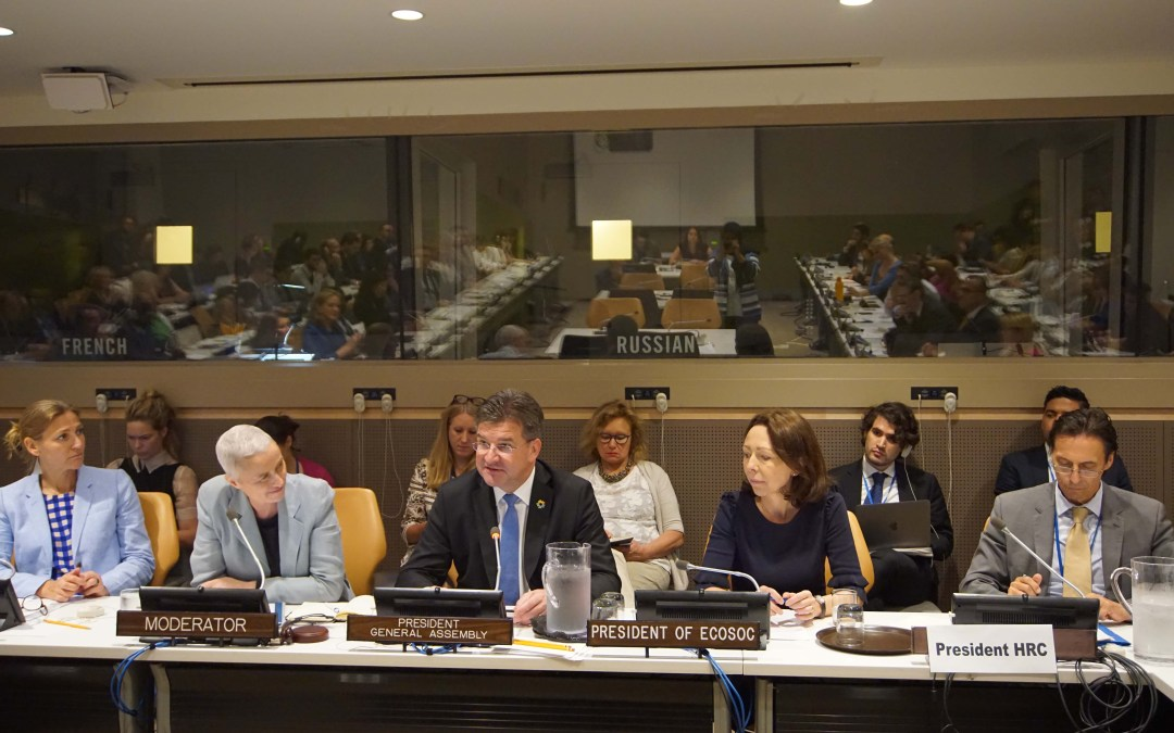 Towards Sustaining Peace through Participation of All: Synergies of a Cross-Pillar Approach to Peace and Security, Agenda 2030 and Human Rights