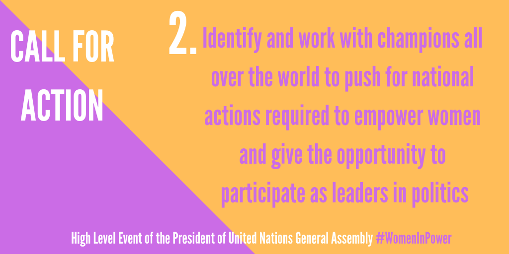 Women in Power | General Assembly of the United Nations
