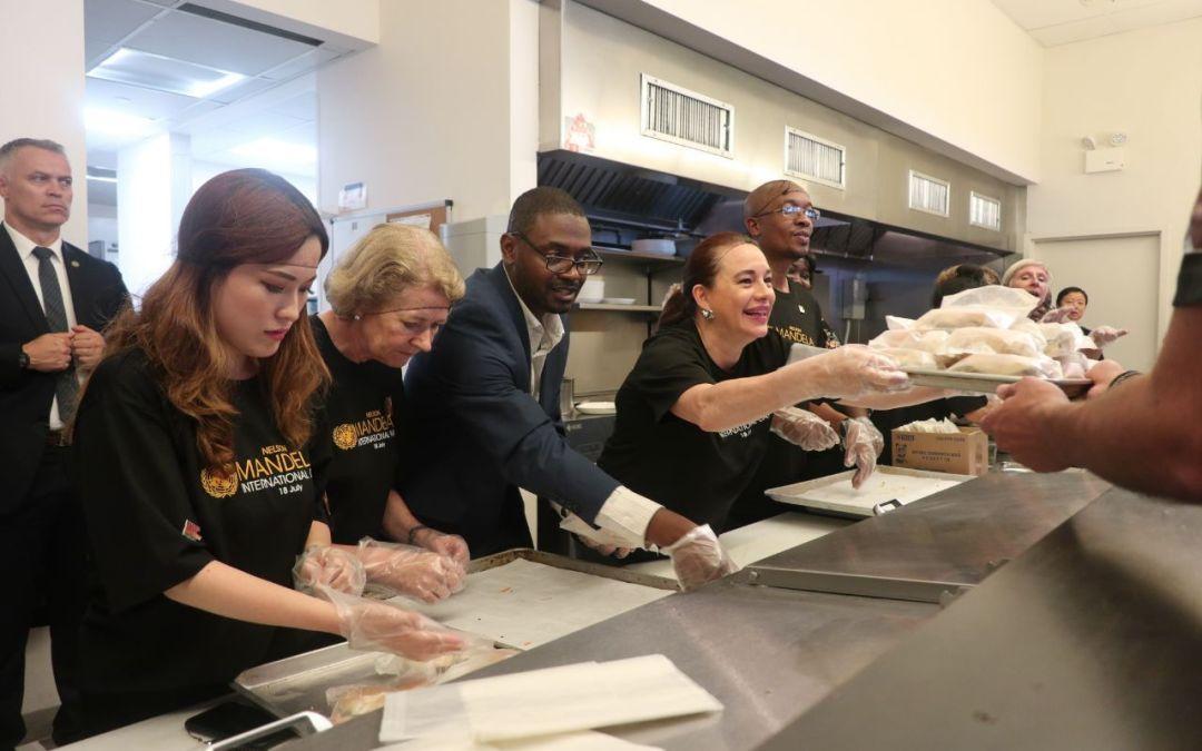 NELSON MANDELA INTERNATIONAL DAY – Brownsville Community Culinary Center