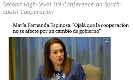 """Argentina es un """"ejemplo"""" en materia de asistencia técnica entre países y llamó a sostener las políticas de cooperación en el tiempo como una muestra de """"madurez política""""."""