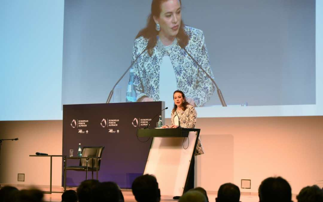 "European Forum Alpbach: ""Multilateralism – Our Foundation for Liberty and Security"""