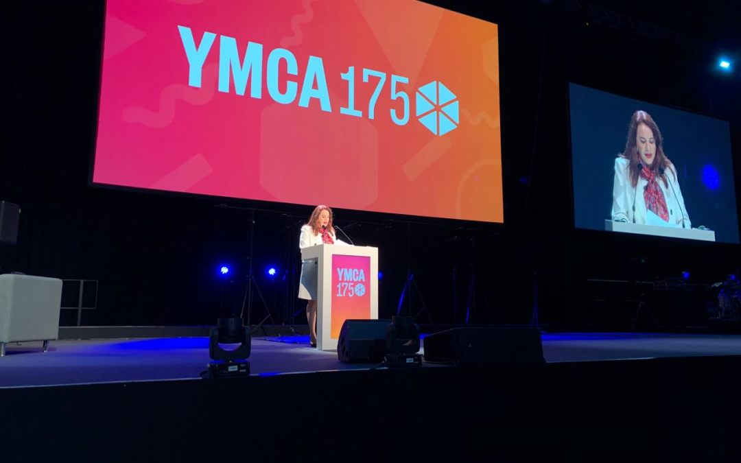 Opening Plenary of the 175th Anniversary of the YMCA