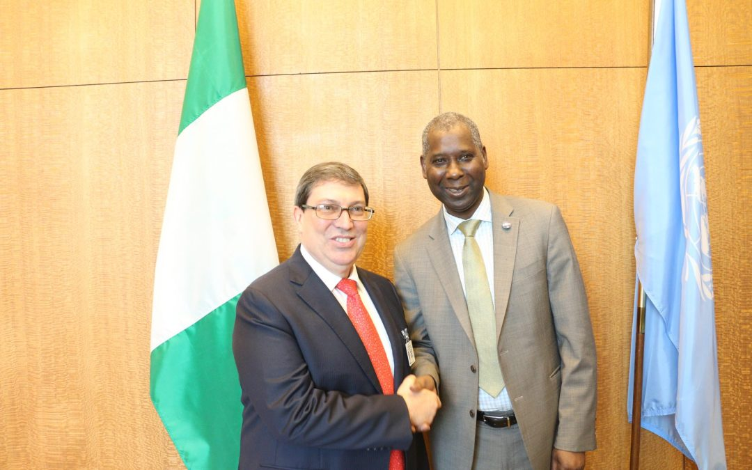 READOUT: meeting with the Minister of Foreign Affairs of Cuba