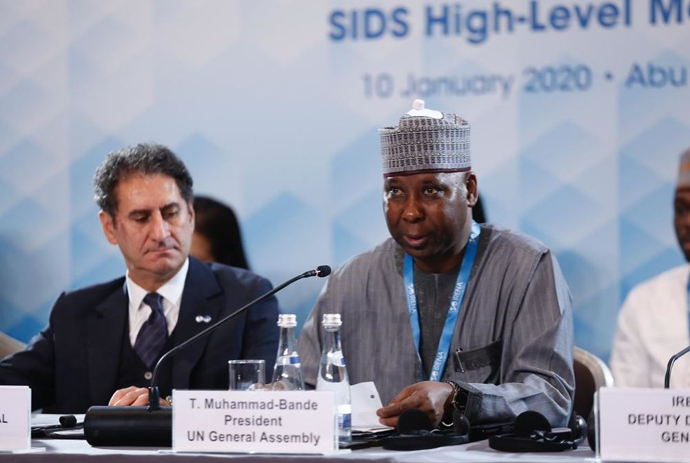 INTERNATIONAL ORGANIZATION FOR RENEWABLE ENERGY – HIGH-LEVEL MEETING ON SMALL ISLAND DEVELOPING STATES AND PARTNERS