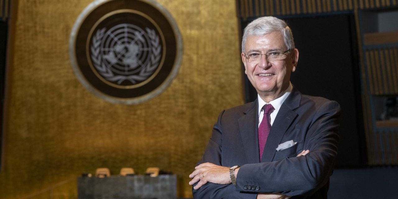 Volkan Bozkir, President of the 75th Session of the United Nations General Assembly