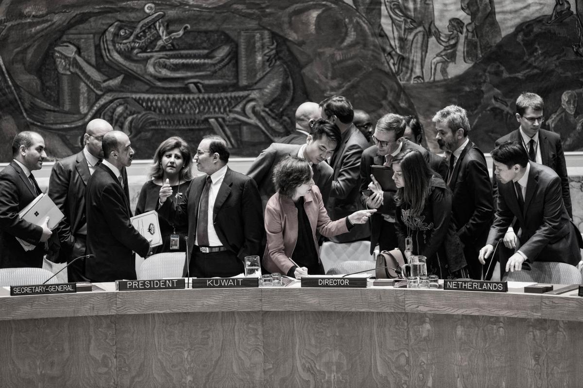 Los Documentos Del Consejo De Seguridad