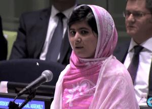 يوم مالالا: التعليم لجميع الأطفال