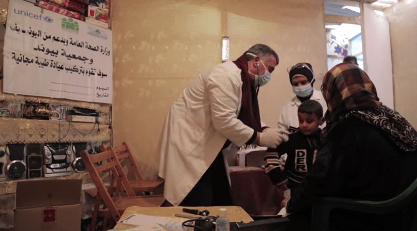 في لبنان، وحدات طبية جوالة توفر الرعاية الضرورية لإنقاذ الأرواح