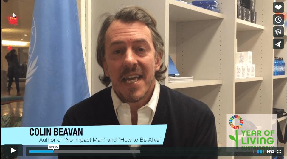 المؤلف والناشط كولن بيفان: لماذا يجعلك نمط عيش مستدام أكثر سعادة؟