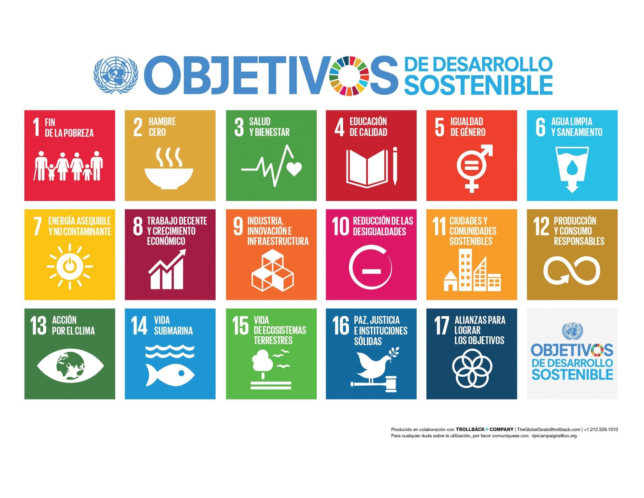 Objetivos de Desarrollo sostenibles. Foto ONU