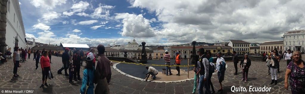 Quito, Ecuador. Foto ONU/Mita Hosali