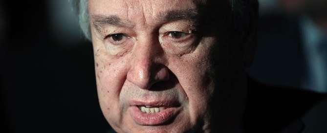 El Secretario General de la ONU, António Guterres. Foto: ONU/TASS