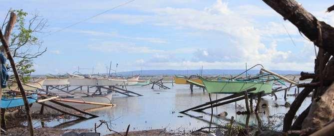 Anualmente los desastres causan miles de millones de dólares en pérdidas económicas. Foto: FAO
