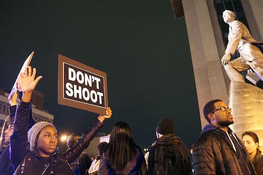 Protestas en Estados Unidos. Foto de archivo: Jacques Baudner