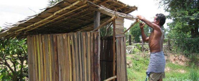 Letrinas en Camboya. Foto: UNICEF