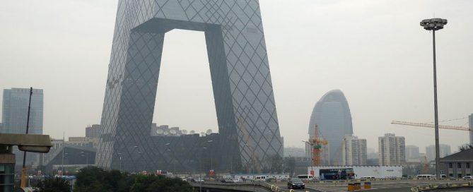 Contaminación atmosférica en la ciudad de Pekín. Foto: Banco Mundial/ Wu Zhiyi