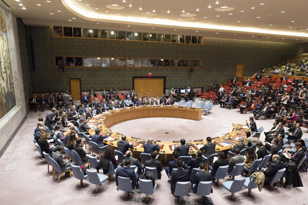 El Consejo de Seguridad en una reunión sobre la no-proliferación en Corea del Norte. Foto: ONU / Rick Bajornas