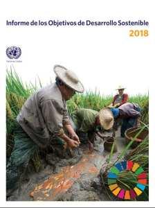 Portada del informe de los ODS