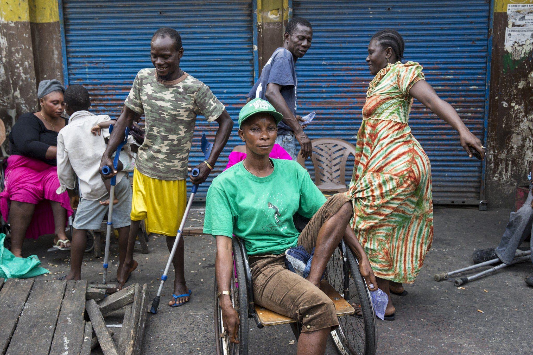 Jeunes handicapés