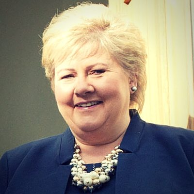 H.E. Mrs. Erna Solberg (Co-Chair)