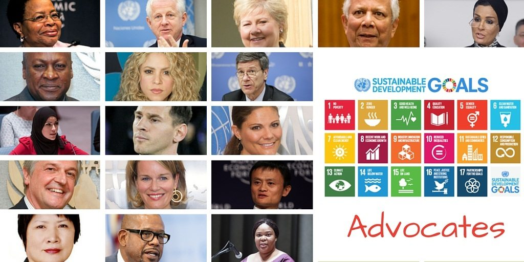 The Advocates for the Sustainable Development Goals.