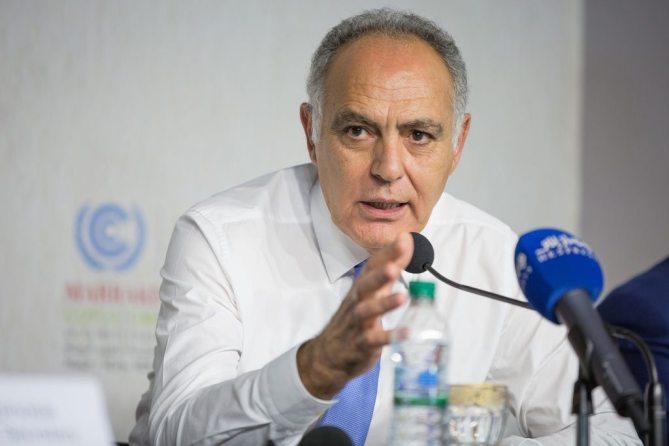 President of COP 22 Salaheddine Mezouar.