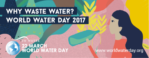 Image: World Water Day 2017 logo