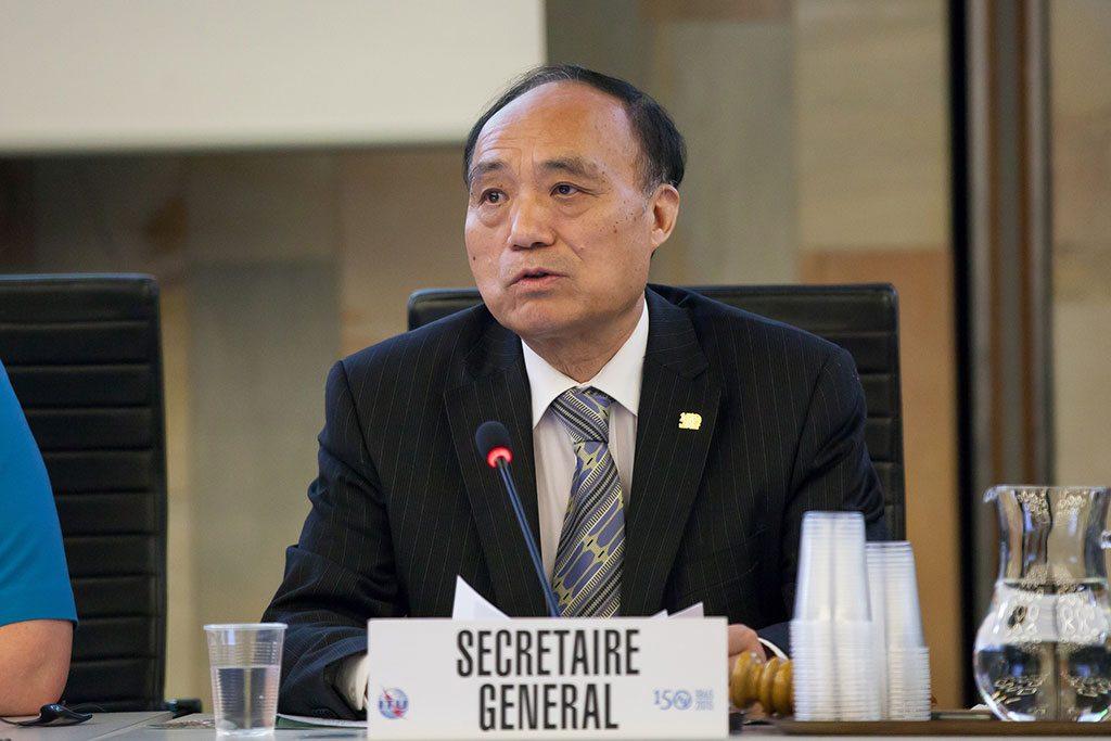 Mr. Houlin Zhao, Secretary-General, ITU. Photo: ITU/R.Farrell