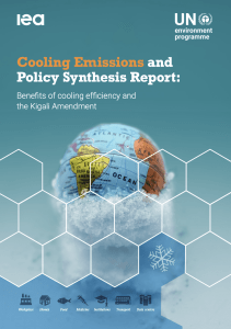 Cooling emissions Report cover