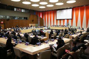 Reunión especial del Comité para el ejercicio de los derechos inalienables del pueblo palestino. Foto de la ONU/Ryan Brown