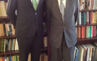 UN Envoy on Youth with UN Permanent Representative of Pakistan