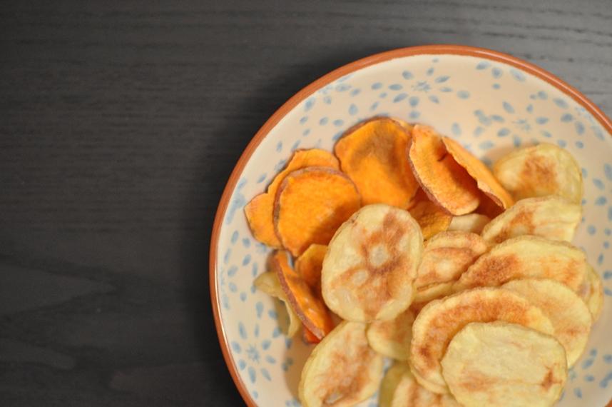 Papas y Batatas Crocantes: No necesitan ni 1 gota de aceite!