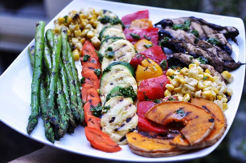 vegetales grillados 9