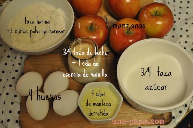 cuadraditos de manzana