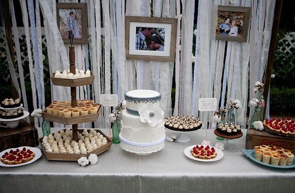 Decoracin de boda rstica  Blog de bodas de Una Boda