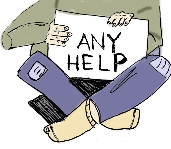 Man who needs 'ANY HELP,' Montgomery BART, Sept 26, 2016