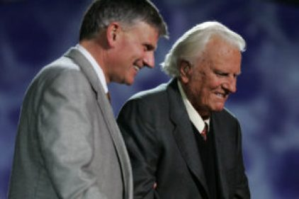 Franklin y Billy Graham