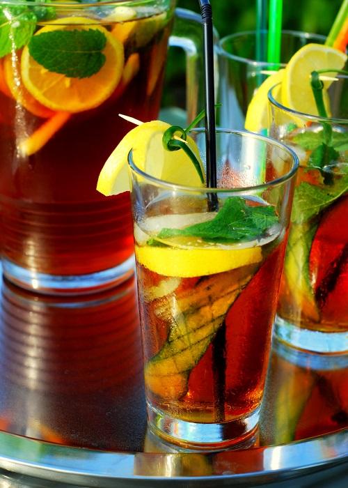 Cocktail_Pimm's con Ginger Ale particolare - Una casa in campagna