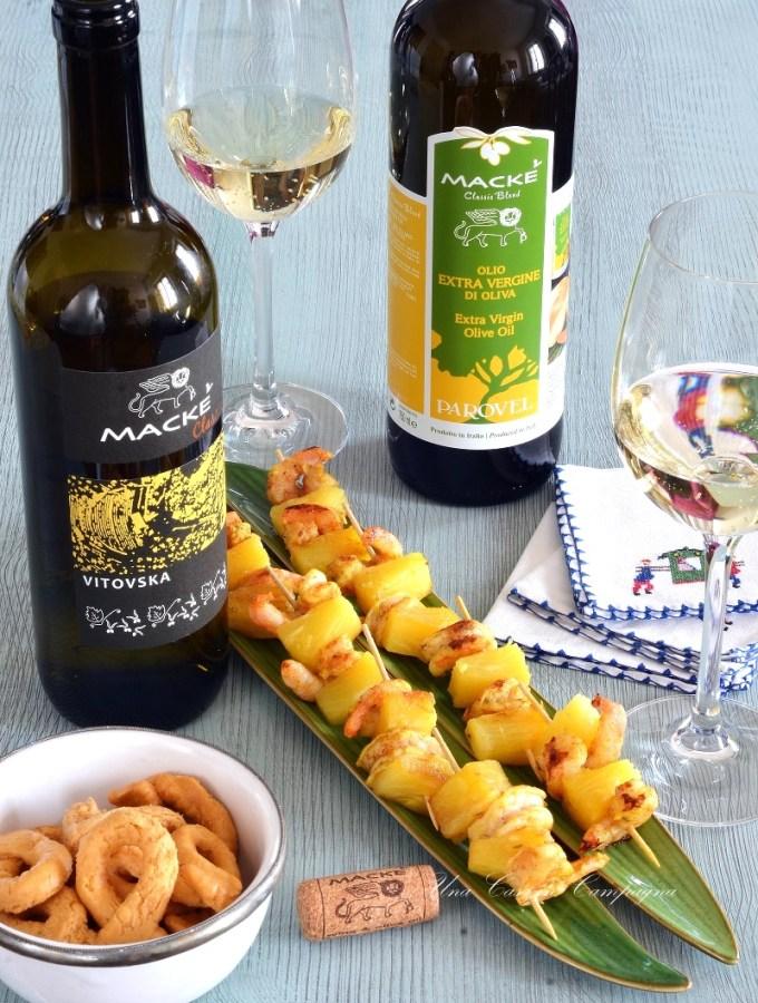 spiedino-di-gamberi-e-ananas_marinata-al-curry-e-olio-extra-vergine-macke- Una casa in campagna ©2016 Alessandra Colaci