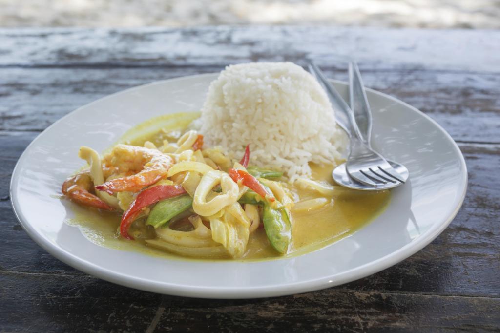 Curry thai  Ricetta UnaDonna
